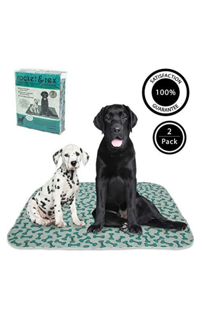 rocket & rex Washable, Reusable, Pet Training and Puppy Pads