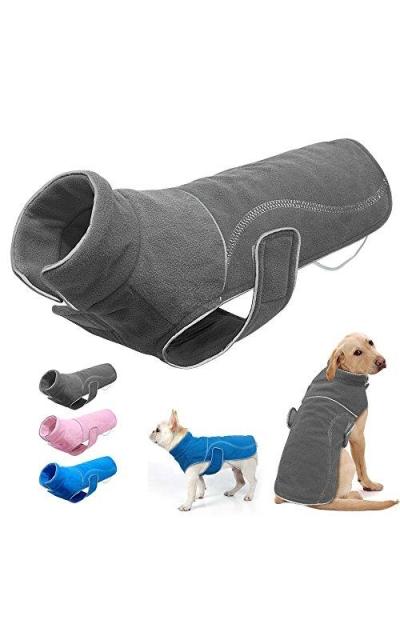 Didog Reflective Fleece Pet Dog Warm Vest