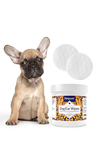 Petpost | Pet Ear Cleaner Wipes for Dogs and Cats