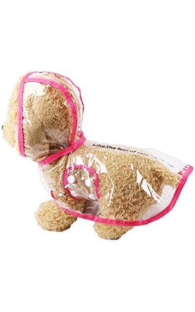 Nethaniah pet Raincoat Small Dog Jacket