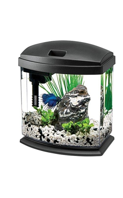 Aqueon LED MiniBow Aquarium Starter Kits with LED Lighting