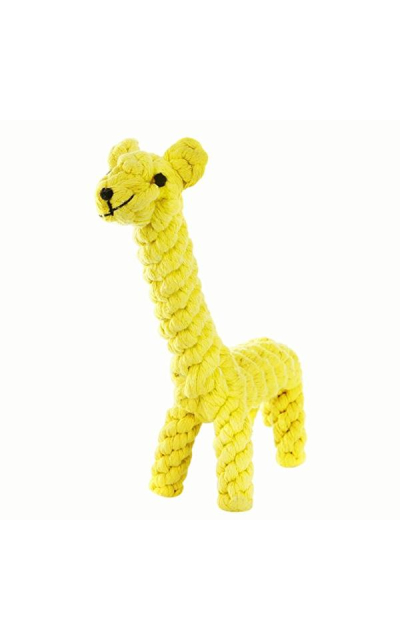 GOCooper Dog Toys, Cotton Dental Teaser Rope Chew Teeth Cleaning Toys Giraffe