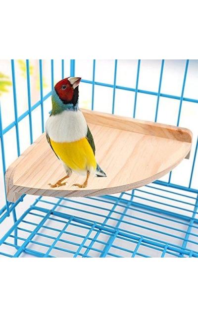 Mrli Pet Bird Perch Platform Stand