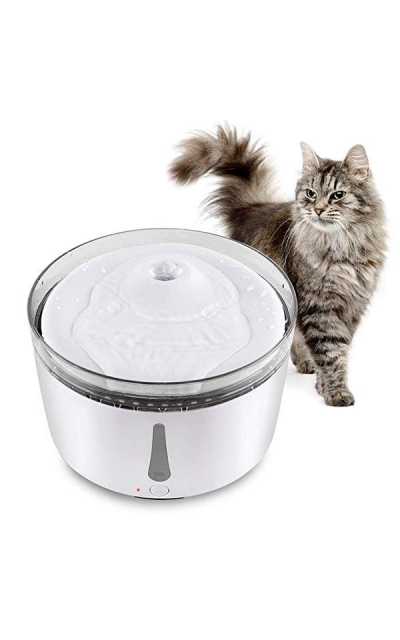 HaveGet 3L Pet Fountain Automatic Cat Water Dispenser