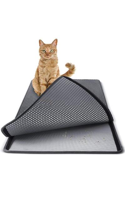 """Paws & Pals Cat Litter Mat 30"""" x 23"""" Inch"""