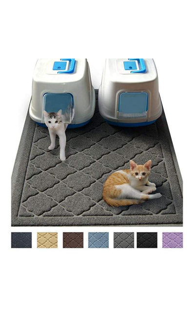 "Jumbo Litter Mat 47"" x 36"" Cat Litter Mat, Traps Messes"