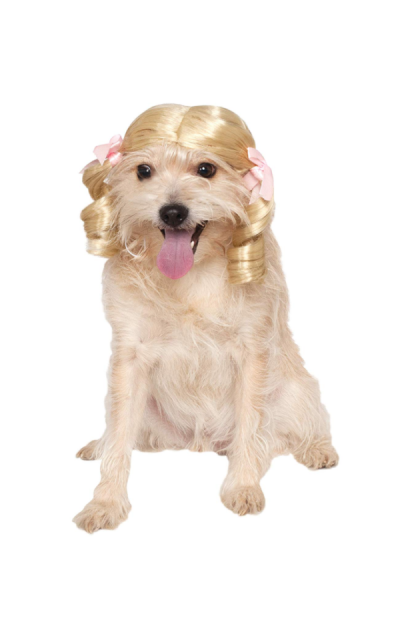 Rubie's Costume Company Blonde Cheerleader Pet Wig