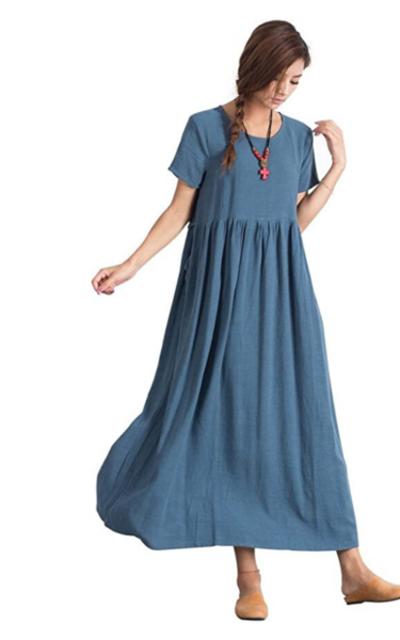 Sellse Linen Loose Dress