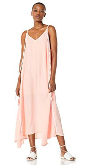 Elise Bloom Boho V-Neck Spaghetti Strap Maxi Dress