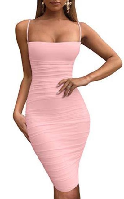 BEAGIME Mini Party Dress