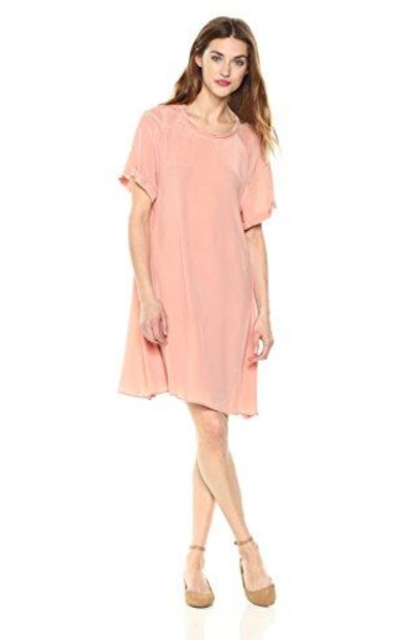 Daisy Drive Rosa Cupro Flowy Dress
