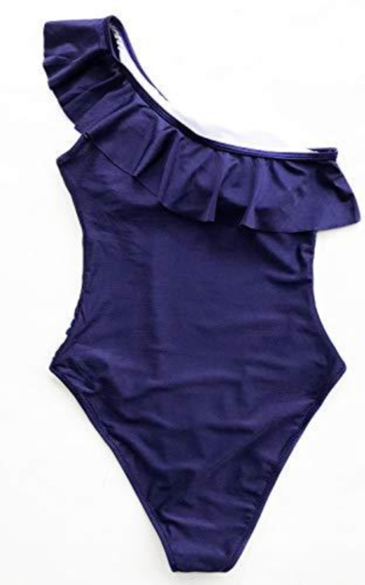 CUPSHE Happy Ending Solid One-Piece Swimsuit