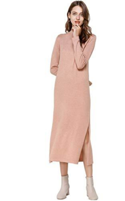 FINCATI Cashmere Sweater Dress