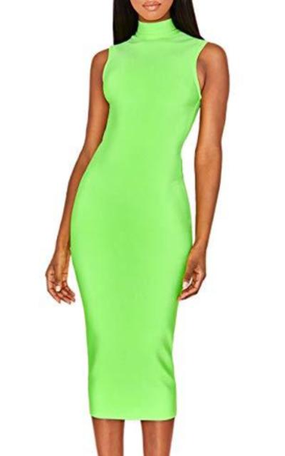 UONBOX   Summer Party Midi Bandage Dress