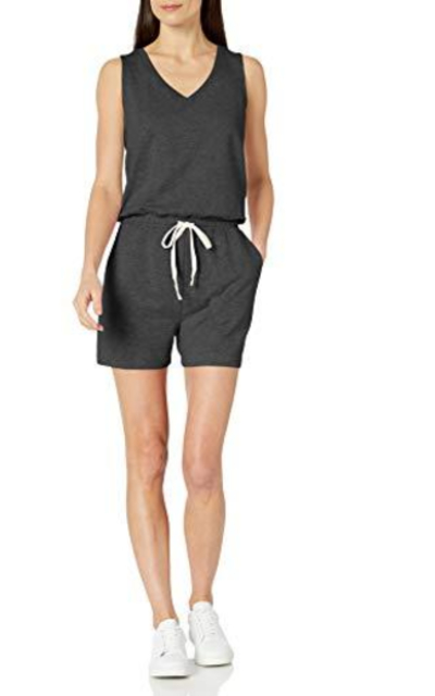 Amazon Essentials Studio Terry Fleece Romper