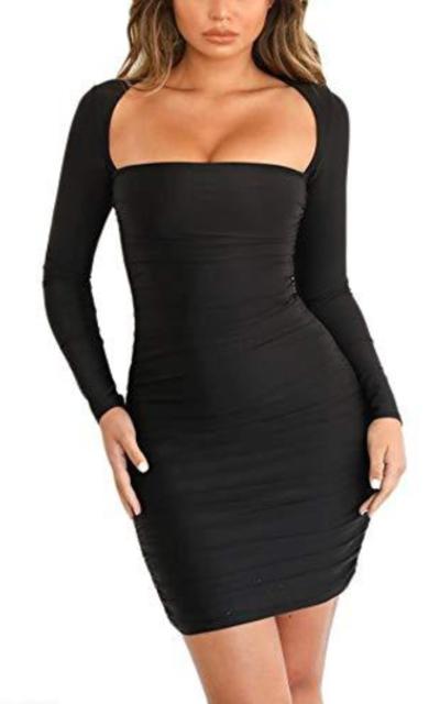 Eliacher Long Sleeve Bodycon Dress