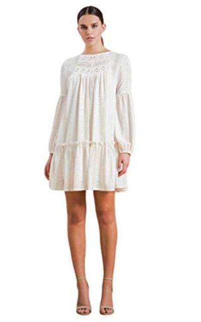 THFB Swing Crochet Dress