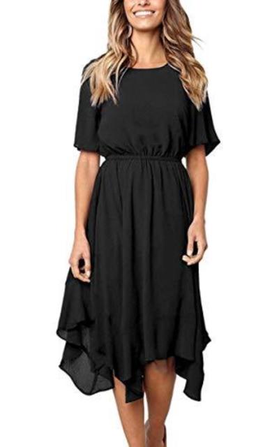 Alaster Queen Chiffon Midi Dress