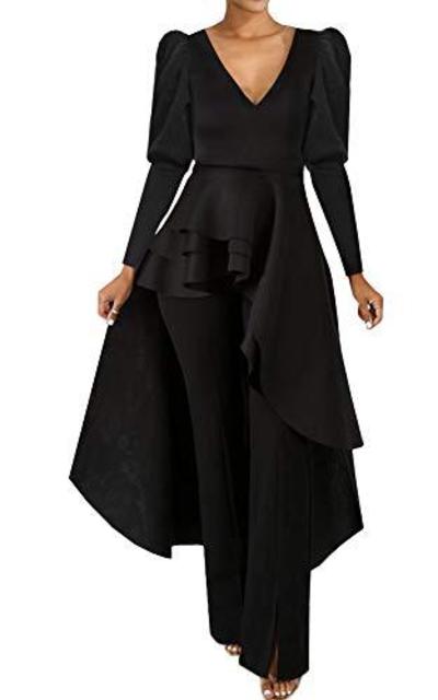 ECHOINE Puff Sleeve Dress