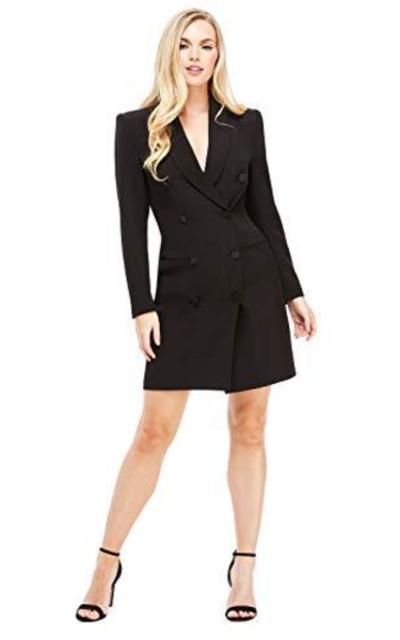 Maggy London Toni Tuxedo Dress