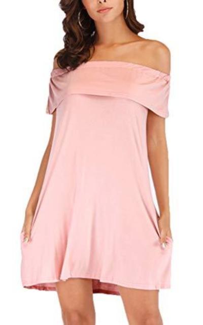 Aksbgg Off Shoulder Mini Dress