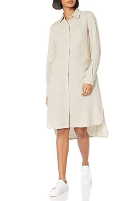 The Drop Celine Midi Shirt Dress