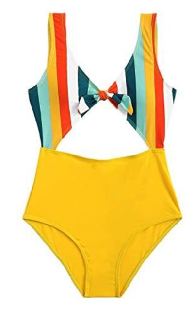 SweatyRocks Monokini Suit