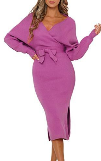 Fixmatti Knit Maxi Dress