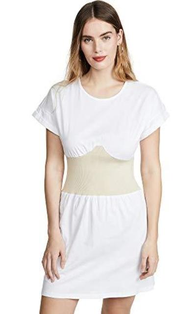 Kendall + Kylie Corset T-Shirt Dress