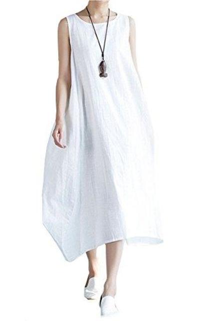 Linen Cover Up Dress