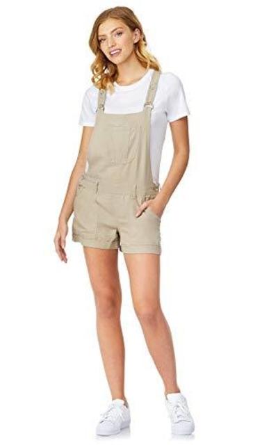 WallFlower Linen Shortalls