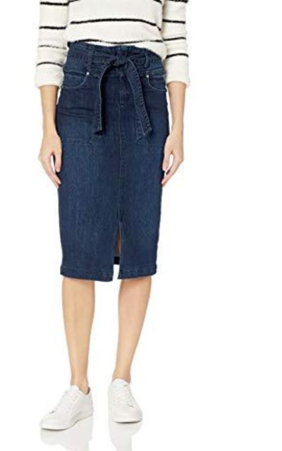 Vintage America Blues  Celia Paperbag Waist Skirt
