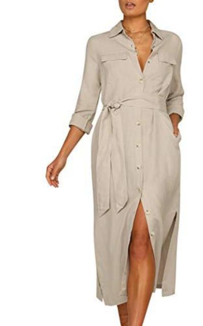 MsLure Shirt Dress