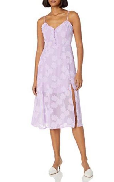 ASTR the label Elaina Sleeveless Midi Dress