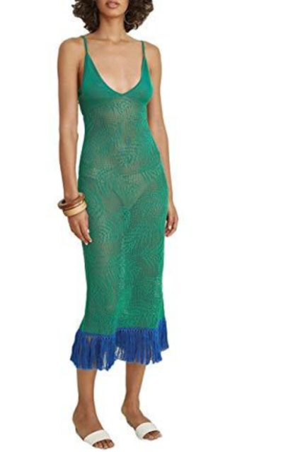 Bsubseach Crochet Hem Coverup Dress