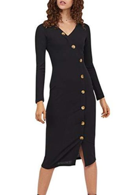 MsLure Bodycon Midi Dress