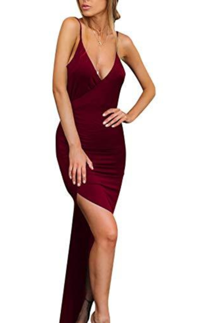 Velius Wrap Maxi Dress