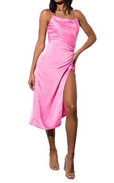 AKIRA Silky Slip Dress