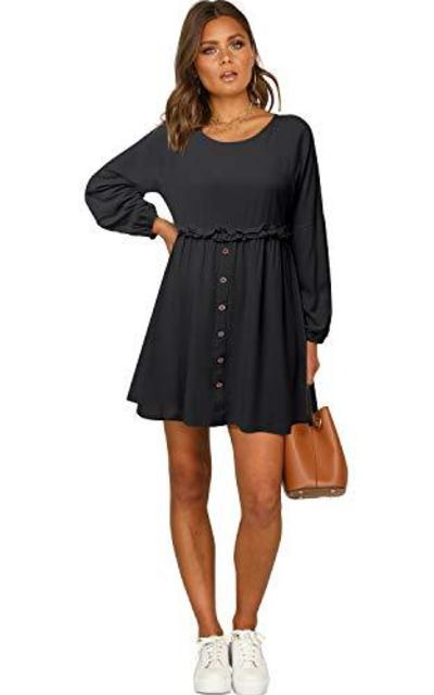LANISEN Babydoll Tunic Dress