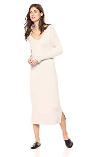 Daily Ritual V-Neck Sweater Dress