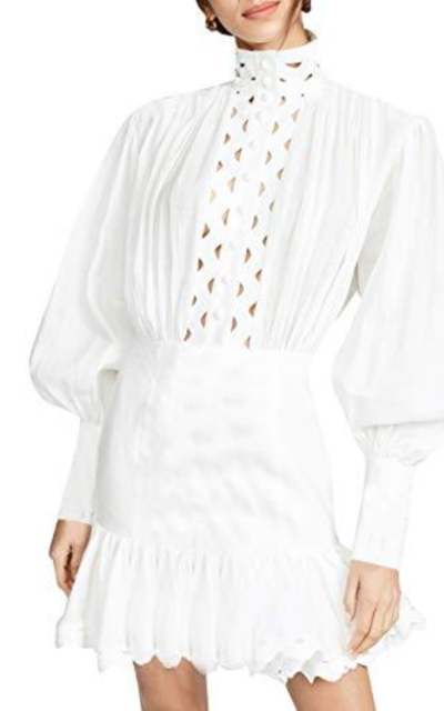 Glamaker Hollow Out Shirt Dress