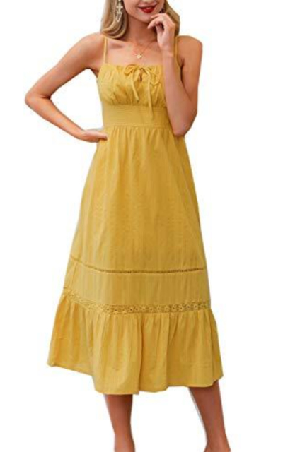 Fargeous Flowy Midi Dress