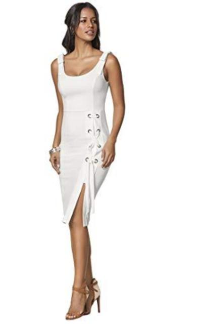 Venus Lace Up Detail Dress