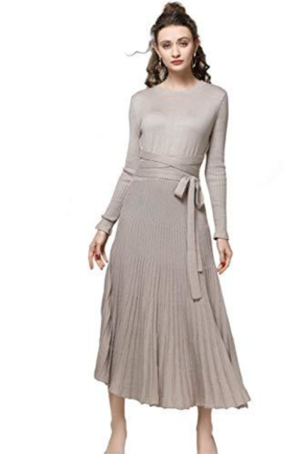 Long Maxi Sweater Dress