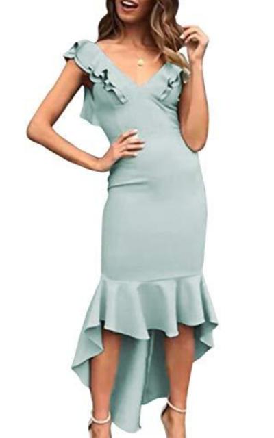 D Jill Mermaid Midi Dress