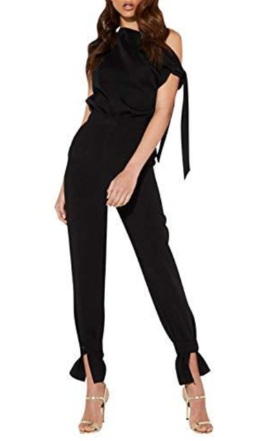 Glamaker Off Shoulder Jumpsuit