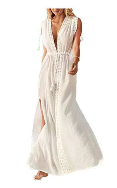 Wander Agio  Long Dress Bikini Cover Up