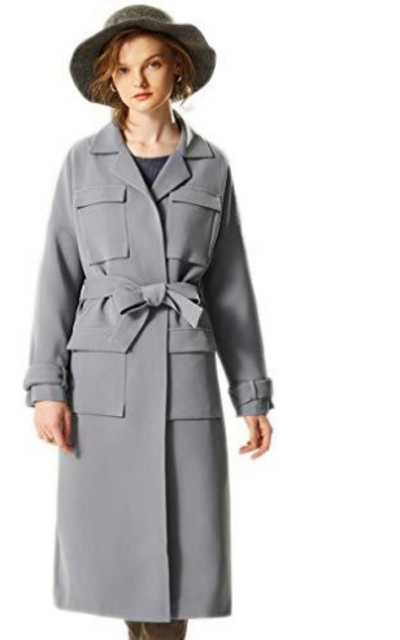 WAFT YEARN Trench Coat