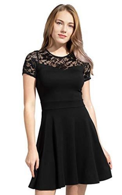 Sylvestidoso Floral Lace Dress