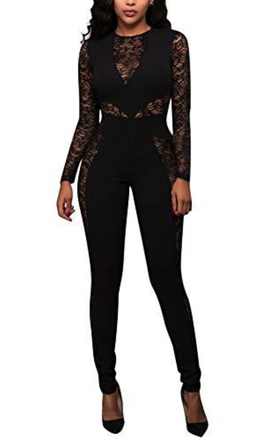 Ophestin Sexy Lace Jumpsuit